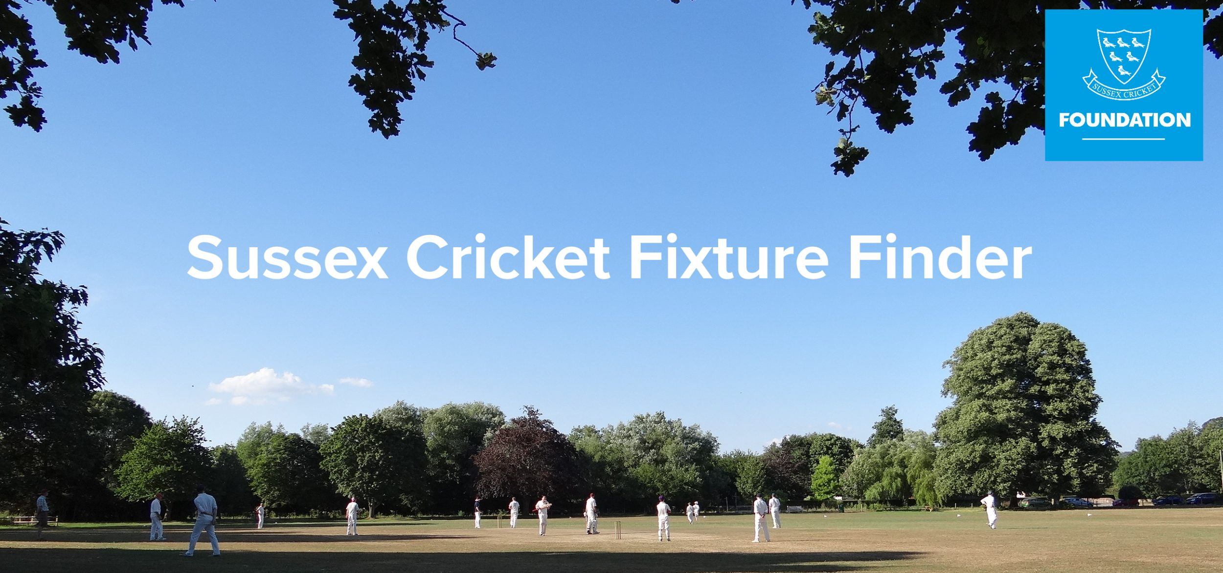 Sussex Cricket Fixture Finder